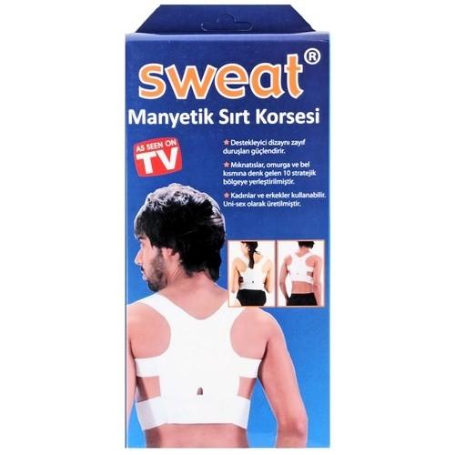 Sweat Manyetik Sırt Korsesi