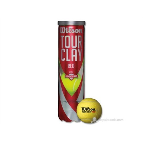Wrt110800 Wilson 4 Lu Tour Clay Red