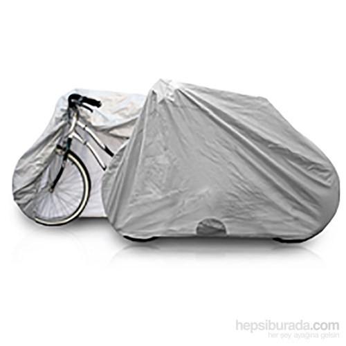 X-Bicycle 282 Dikişsiz Miflonlu Kumaştan Su Geçirmez Rüzgara ve Kara Dayanıklı Bisiklet Brandası
