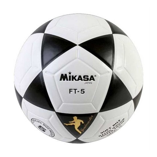 Mikasa FT-5 Yapıştırma Futbol Topu SiyahBeyaz TOPFTBNNN012 No:5