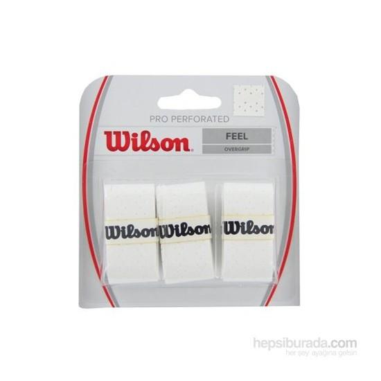 Wilson Pro Overgrip 3'lü Beyaz Perforated ( WRZ4005WH )