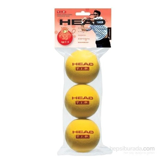 Head Tip 4Dz Kırmızı Sünger Başlangıç Tenis Topu