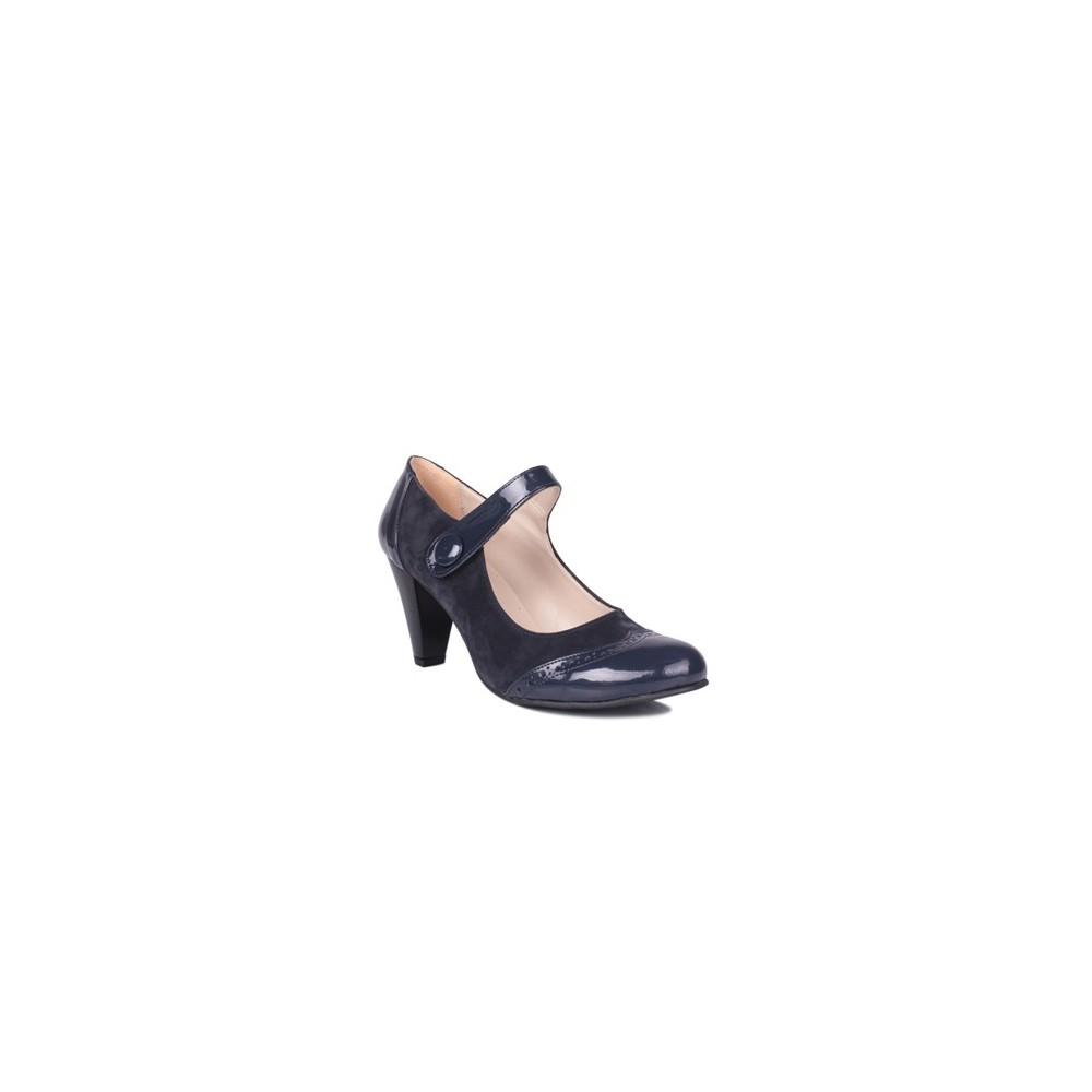 Loggalin 375400 031 425 Lacivert Kadın Günlük Ayakkabı