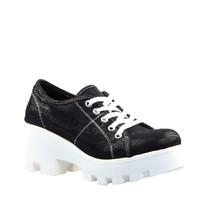 Cabani Günlük Kadın Ayakkabı Siyah Deri