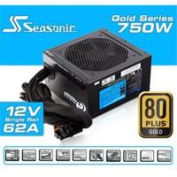 Seasonic G-750 80Plus Gold 750W Single Rail Aktif Modüler Güç Kaynağı (SEA-G-750)