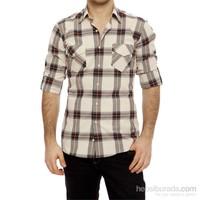 Efor G 1073 Cepsiz Kapaklı Spor Yakalı Spor Stil Erkek Gömlek 14Y52g1073