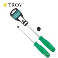 Troy 22132 Çakmalı Düz Tornavida (6,0X125mm)
