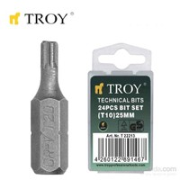 Troy 22216 Bits Uç (T25x25mm)