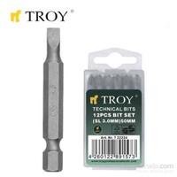 Troy 22228 Bits Uç (Düz 6,0X50mm)