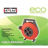 Attlas Eco Mk5M 3X1Mm Kablo Makarası