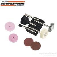 Mannesmann 92564 Mini Fırça Zımpara Seti (9 Parça)