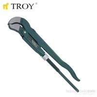 """Troy 210015 Maşalı Boru Anahtarı - İsveç Modeli (1.5"""")"""