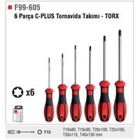 Ceta Form F99-605 6 Parça C-Plus Tornavida Takımı - Torx