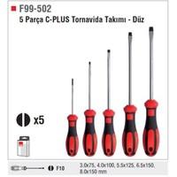 Ceta Form F99-502 5 Parça C-Plus Tornavida Takımı - Düz