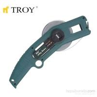 Troy 23145 İskandil Çelik Metre (50M, 13×0.18Mm)