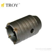 Troy 27460 Tungsten Karpit Beton Panç (Ø 50Mm) - Adaptörü Ayrı Satılır