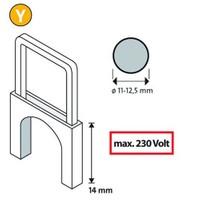 Novus Y/14 Tip İzoleli Kablo Zımba Teli 350 Li Paket