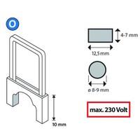 Novus O/10 Tip İzoleli Kablo Zımba Teli 350 Li Paket