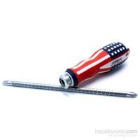 Usa Design Çelik İki Uçlu Tornavida 091165