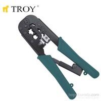 Troy 24008 Telefon Ve Bilgisayar Soketi Sıkma Pensesi