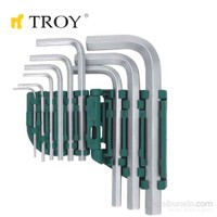Troy 26201 Allen Anahtar Seti (9 Parça)