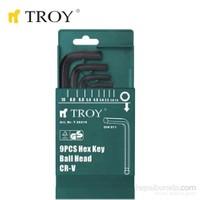 Troy 26210 Allen Anahtar Seti (Bilya Başlı)