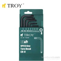 Troy 26220 Allen Anahtar Seti (Düz)