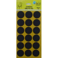 Yeni Özel 35mm Siyah Keçe (18 ADET)