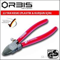 Orbis 22-160 Düz Kafa Yan Keski(Plastik Ve Kurşun İçin) 160Mm