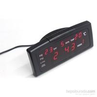 Wt Led Dijital Saat Tarih Alarm Sıcaklık 091186