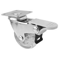 Tablalı Tekerlek Ekonomik Frenli (Şeffaf) - 0512 Fvt