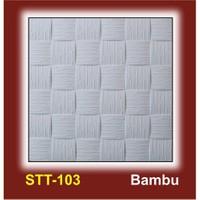 Tavan Kaplama 2 m2 (8 adet 50 x 50 cm) Bambu Modeli