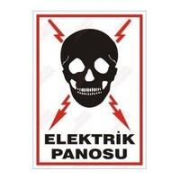 "Pvc Levha ""Elektrik Panosu"" 25X35 Cm"