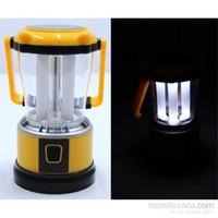 Kama 16 Beyaz CREE Ledli Güneş Enerji Pilli USB Çıkışlı Işıldak 091304