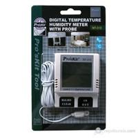 Pro's Kit Nt-312 Dijital Sıcaklık Nem Ölçer(Problu)