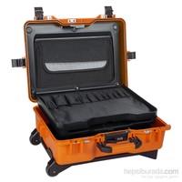Mano Mtc 430Bt Turuncu - Bez Takım Dizmeli +Plastik Bölmeli Tough Case Pro Takım Çantası