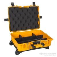 Mano Mtc 430Pl Sarı - Yumurta Sünger + Plastik Bölmeli Tough Case Pro Takım Çantası