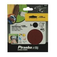 Piranha X32077 Matkap Ve Taşlama İçin Kendinden Yapışkanlı Zımpara Diski 125Mm