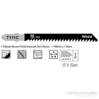 SGS HCS Tip T111C Ahşap İçin Dekupaj Ağzı Testere 100 mm x 7,9 mm 010148