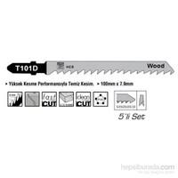 SGS HCS Tip T101D Ahşap İçin Dekupaj Ağzı Testere 100 mm x 7,9 mm 010150
