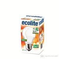 Ecolite Halosoft Enerji Tasarruflu Akkor Halojen Ampul 52W Soft