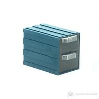 Sançelik 104 Plastik Çekmeceli Kutu (10 Adet)