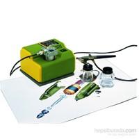 Proxxon 27120 MK240 85 Wayy (Kompresör) AB 100 (Hava Tabancası)