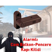 Alarmlı Güvenlik Kilidi