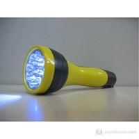 Tek-İş El Feneri Şarjlı 9 Ledli Sarı