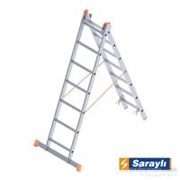Saraylı Endüstriyel Merdiven 2X7 A Tipi 3 Metre