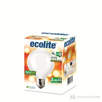Ecolite Halosoft Enerji Tasarruflu Akkor Halojen Ampul Globe G95 70W Soft