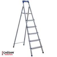 Çağsan 5+1 Basamaklı Galvaniz Kaplamalı Merdiven