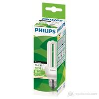 Philips Small Economy 18W Ww E27 - Sarı Işık