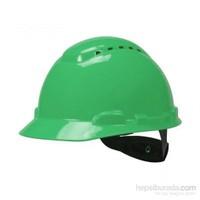 3M H700 Enseden Ayarlı Vidalı UV'li Yeşil Baret (20 Adet)